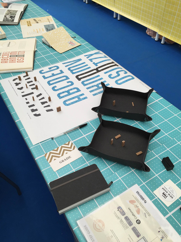 lo stand lino's type + tipoteca