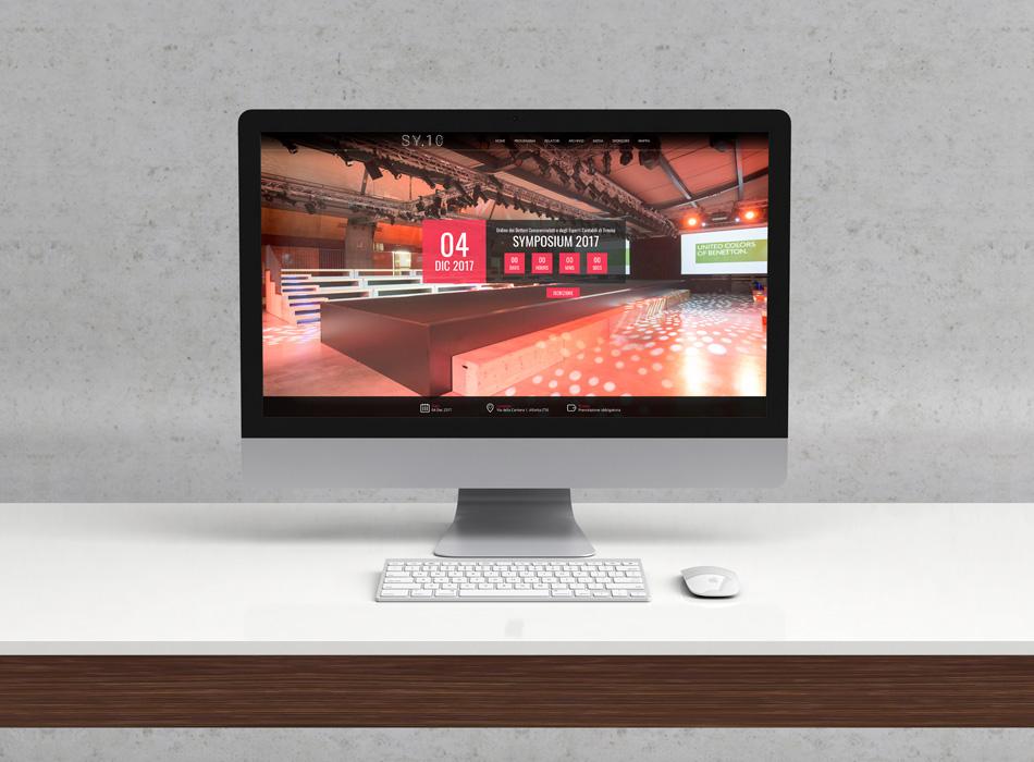 Sito internet per professionisti-evento-symposium-iMac
